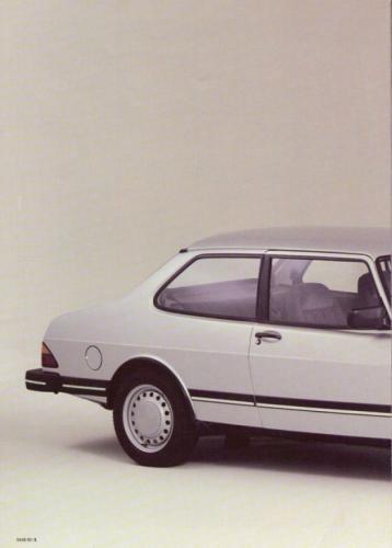 Saab 90 MY85 Brochure NL 03