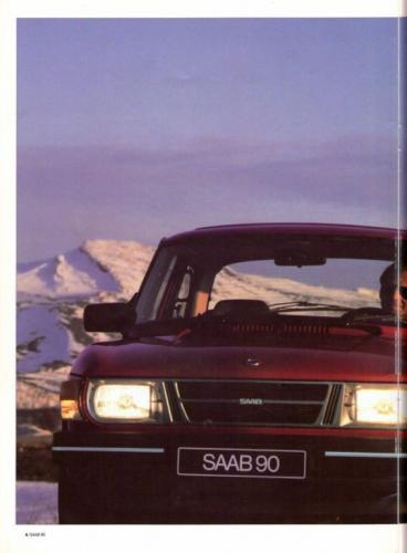 Saab 90 MY85 Brochure NL 06 (1)