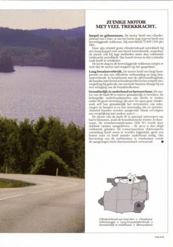 Saab 90 MY85 Brochure NL 09 (1)