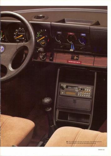 Saab 90 MY85 Brochure NL 11 (1)