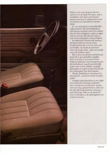 Saab 90 MY85 Brochure NL 13 (1)