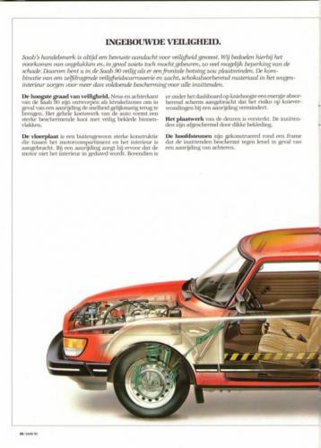 Saab 90 MY85 Brochure NL 20 (1)