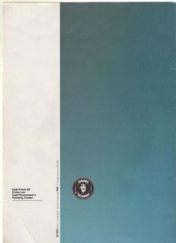 Saab 90 MY85 Brochure NL 26 (1)
