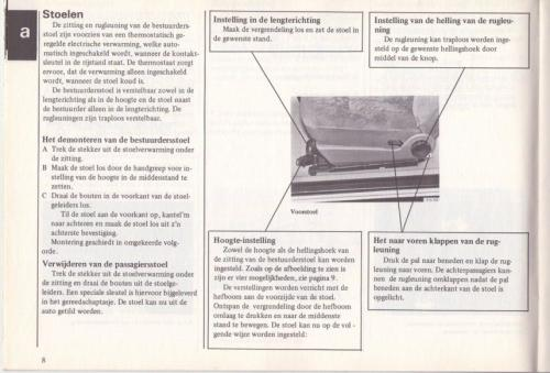 Saab 90 Instructieboekje MY85 NL 11