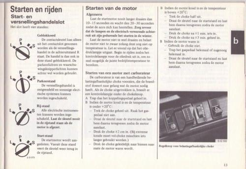 Saab 90 Instructieboekje MY85 NL 16 (1)