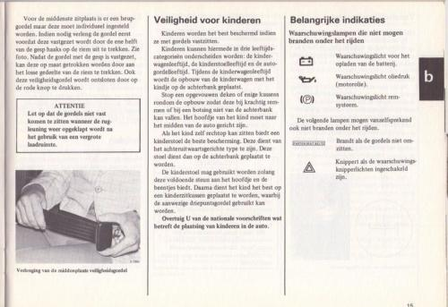 Saab 90 Instructieboekje MY85 NL 18 (1)