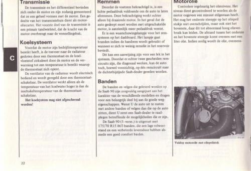 Saab 90 Instructieboekje MY85 NL 25 (2)