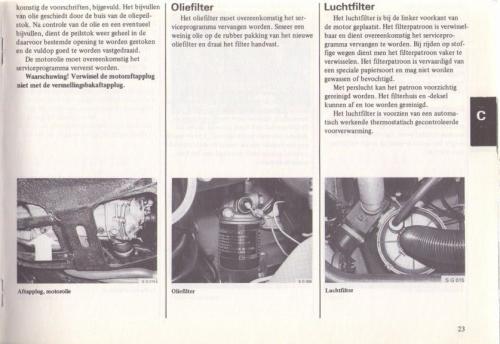 Saab 90 Instructieboekje MY85 NL 26