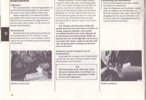 Saab 90 Instructieboekje MY85 NL 27