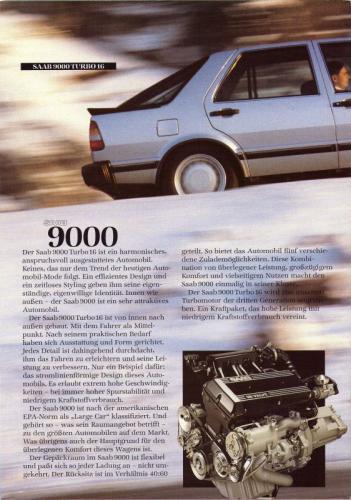 MY86 - Duitstalige Folder Saab 90-900-9000 04