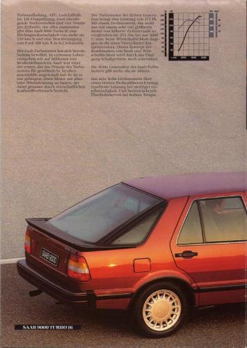 MY86 - Duitstalige Folder Saab 90-900-9000 06