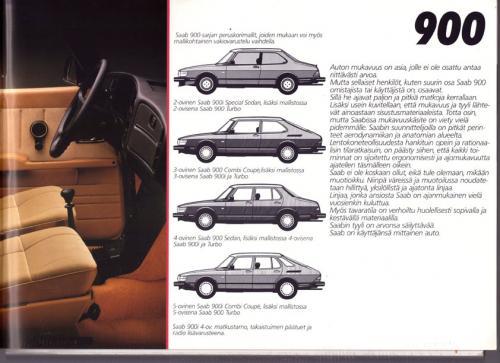 MY86 - Folder Finland Saab 90 900 9000 07