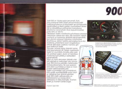 MY86 - Folder Finland Saab 90 900 9000 09