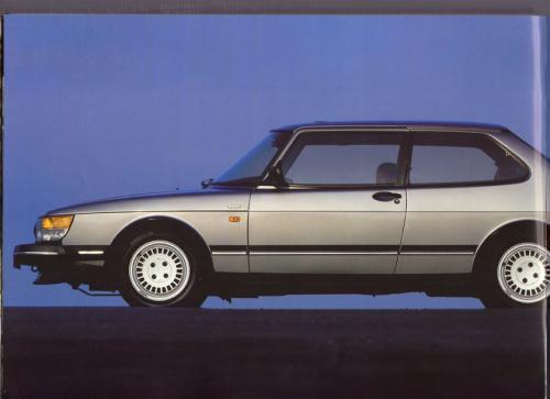 MY86 - Folder Finland Saab 90 900 9000 12