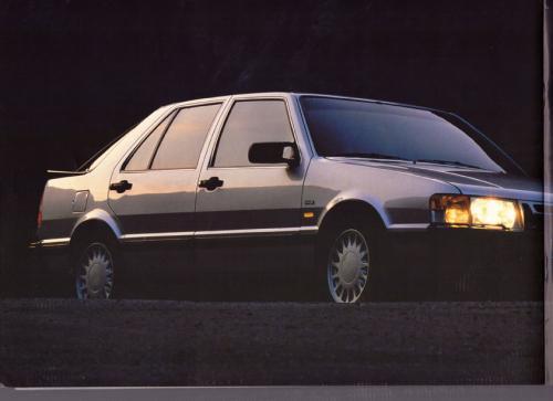 MY86 - Folder Finland Saab 90 900 9000 16