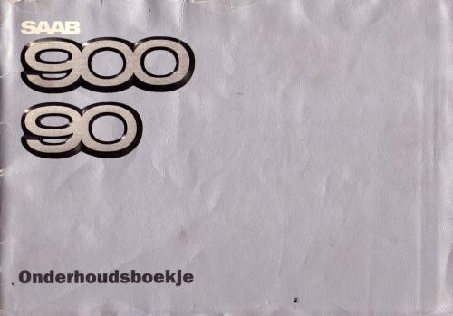 MY86 - Onderhoudsboekje