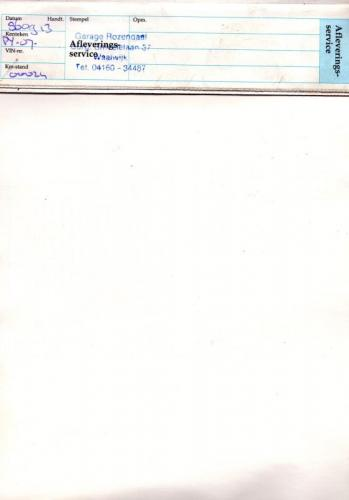 MY86 - Onderhoudsboekje 11
