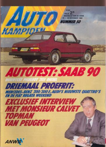Autokampioen Saab 90 01