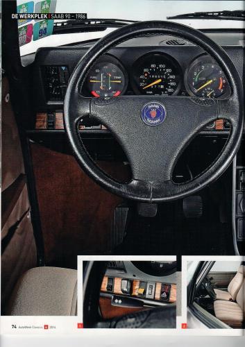 Pers over de Saab 90 - Autoweek Classics 4-2014