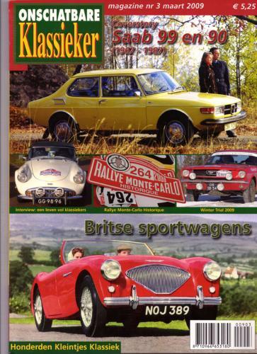 Pers over de Saab 90 - Onschatbare Klassieker 03-2009