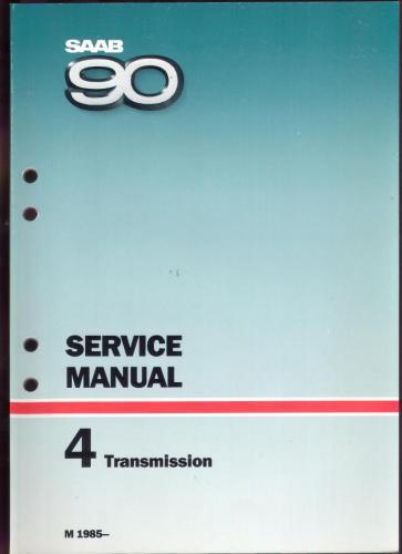 Werkplaatshandboek - 4 - Service Manual