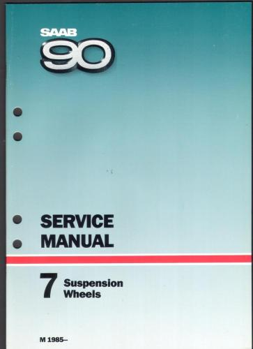 Werkplaatshandboek - 7 - Service Manual - Suspention