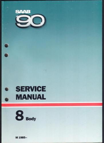 Werkplaatshandboek - 8 - Service Manual - Body