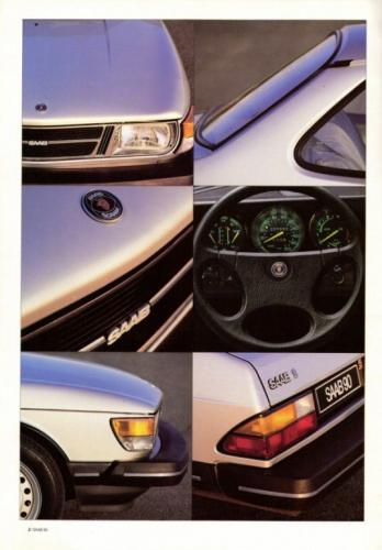 Saab 90 MY85 Brochure NL 02