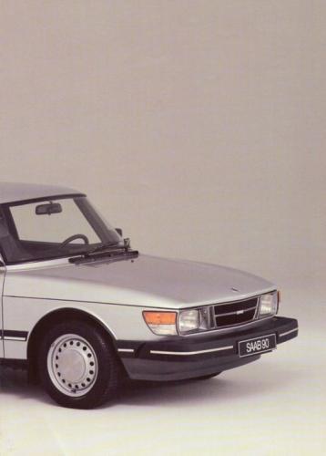 Saab 90 MY85 Brochure NL 04