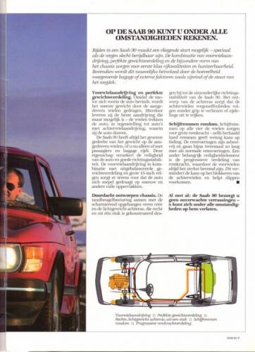 Saab 90 MY85 Brochure NL 07 (1)