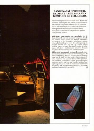 Saab 90 MY85 Brochure NL 15 (1)