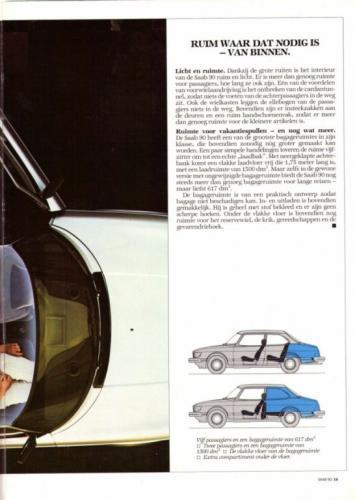 Saab 90 MY85 Brochure NL 19 (1)