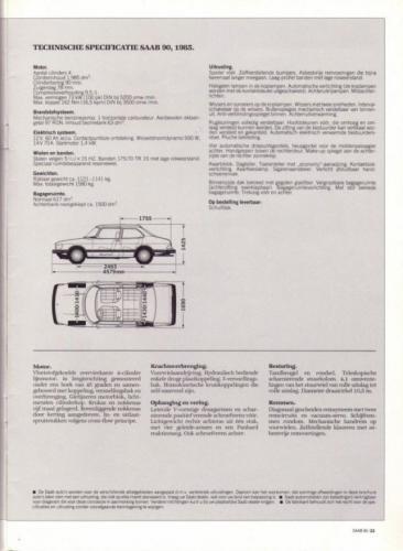 Saab 90 MY85 Brochure NL 23 (1)