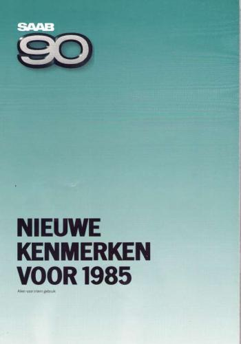 MY85 - Nieuwe Kenmerken