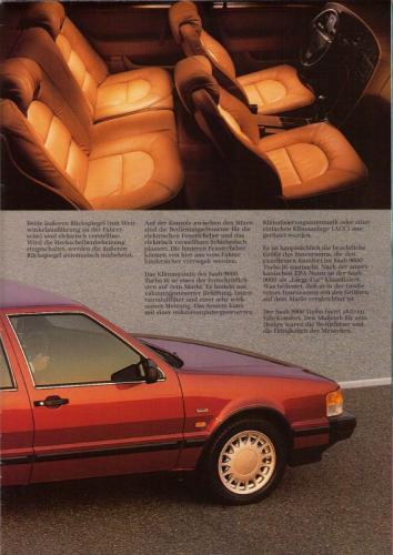 MY86 - Duitstalige Folder Saab 90-900-9000 07