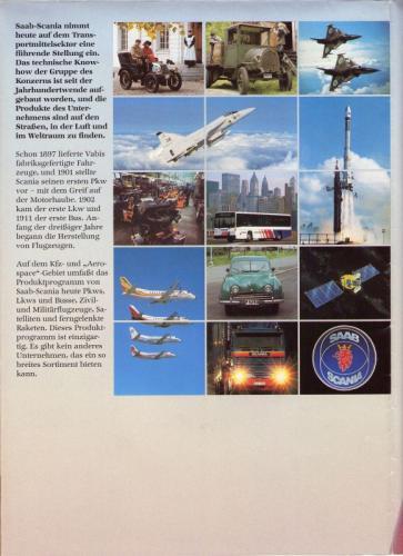 MY86 - Duitstalige Folder Saab 90-900-9000 14