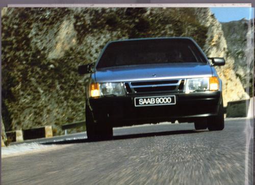 MY86 - Folder Finland Saab 90 900 9000 02