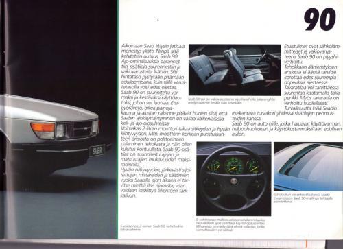 MY86 - Folder Finland Saab 90 900 9000 05