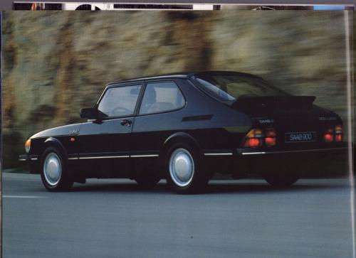 MY86 - Folder Finland Saab 90 900 9000 14