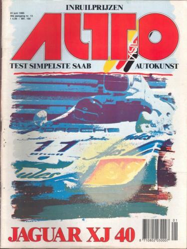 Pers over de Saab 90 - AutoVisie 1985
