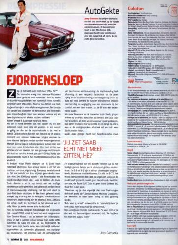 Pers over de Saab 90 - Autoweek nr23, juni 2008