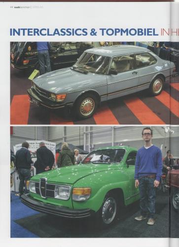 Pers over de Saab 90 - Saabberichten 01, maart 2015