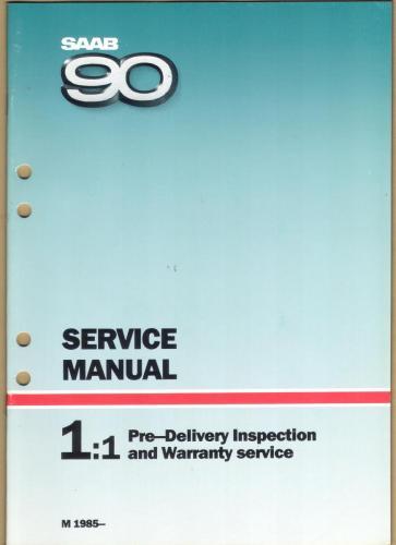 Werkplaatshandboek - 1.1 - Service Manual