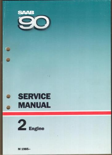 Werkplaatshandboek - 2 - Engine