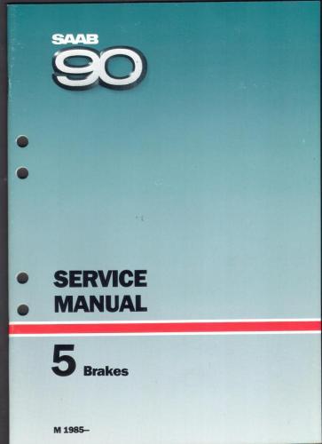Werkplaatshandboek - 5 - Service Manual - Brakes