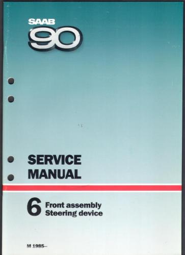 Werkplaatshandboek - 6 - Service Manual - Front Assembly